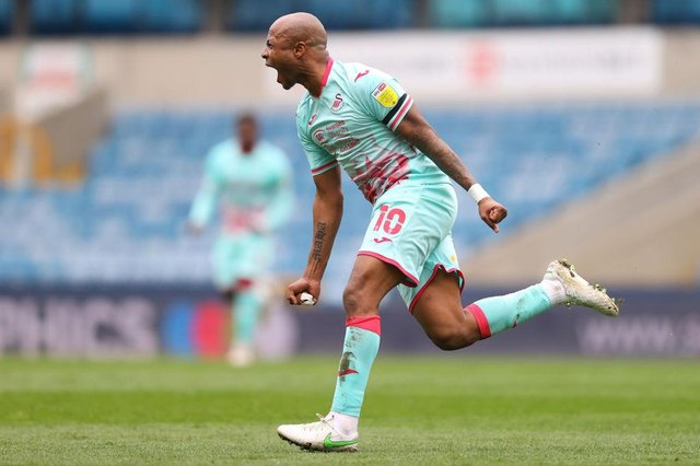 Andre Ayew is a free agent after leaving Swansea City at the end of last season. Picture: SNS