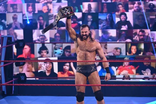 WWE champion Drew McIntyre grew up a Rangers fan in Prestwick (Picture: WWE)