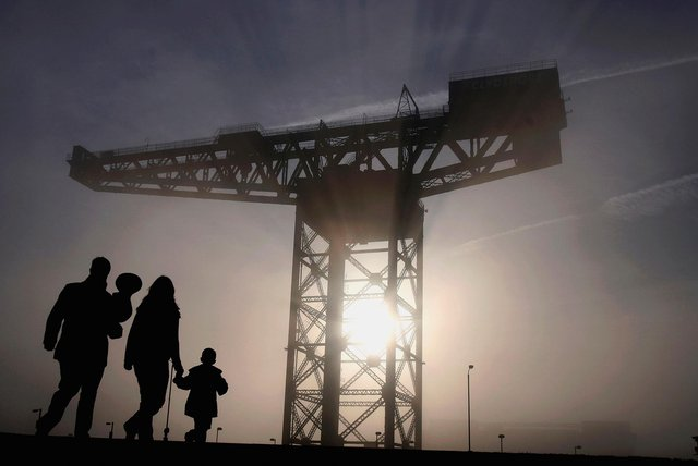 The Finnieston Crane, in Glasgow. Can you identify these other famous Scottish landmarks?