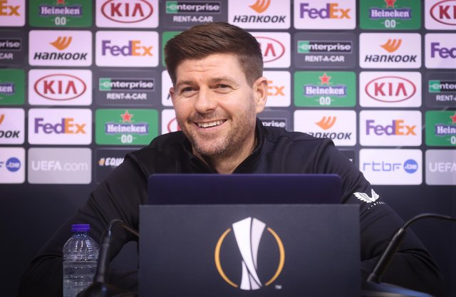 Steven Gerrard made three changes to his team.