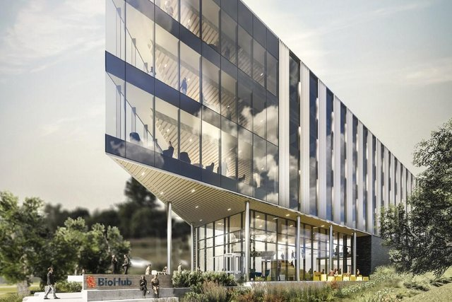The main phase of construction work on the £40m BioHub facility at Foresterhill Health Campus in Aberdeen is set to get underway in the New Year.