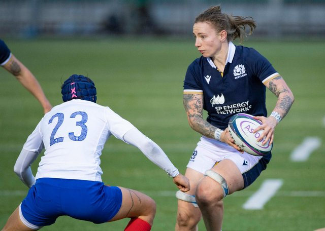 Scotland's Jade Konkel returns to the squad for the World Cup qualifying tournament. Picture: Bill Murray/SNS