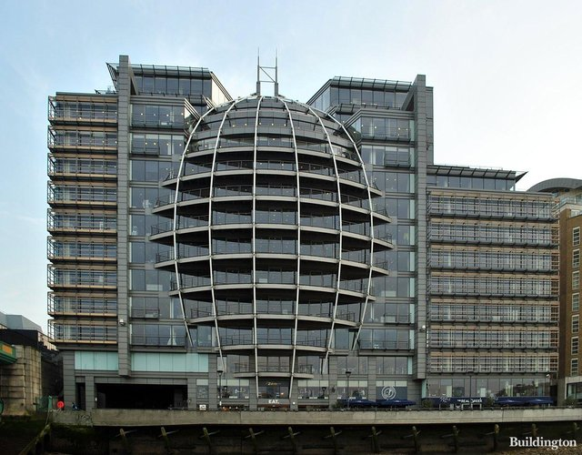 Ofcom headquarters at Riverside House, Bankside next to Southwark Bridge in London