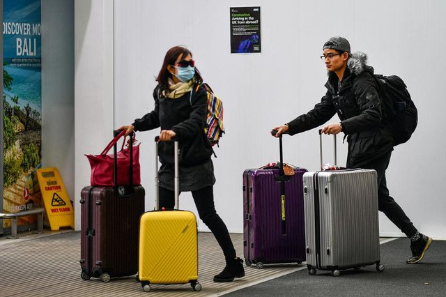 Passengers wait for flights at Edinburgh Airport. Picture: Jeff J Mitchell/Getty Images