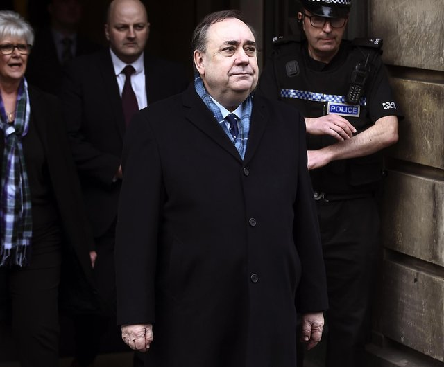 Former First Minister Alex Salmond. Picture: Lisa Ferguson