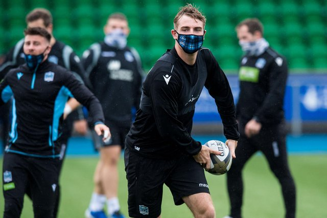Glasgow centre Stafford McDowall's season was disrupted by a shoulder injury. Picture: Ross Parker/SNS