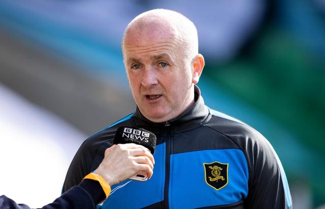 Livingston manager David Martindale.