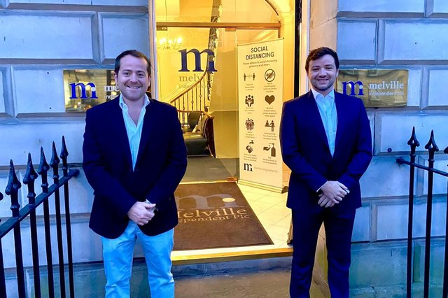 Kristofor Banks and Matthew Irvine are the two new directors that have been appointed in key strategic and development roles at Melville Independent in Edinburgh.