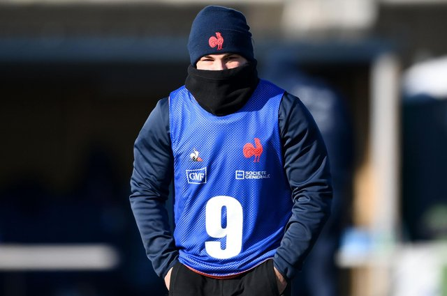 Scrum-half Antoine Dupont was of several players in the French squad to test positive for Covid-19.