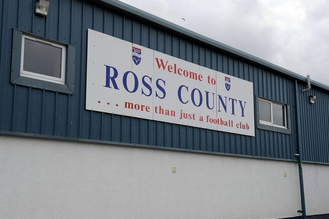 Ross County have had to abandon football operations due to covid. (Picture Michael Gillen)