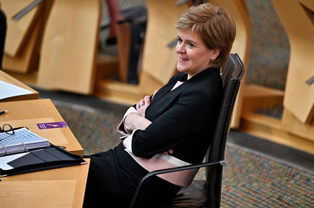 Nicola Sturgeon has complained of a 'politically catastrophic and morally repugnant' challenge by the UK Government over the incorporation the UN Convention on the Rights of the Child into Scots Law (Picture: Jeff J Mitchell/WPA pool/Getty Images)