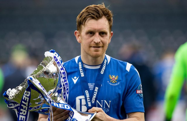 St Johnstone's Liam Craig admits that when he at last got his hands on a trophy with with the Betfred Cup success in February, three months later he would have the opportunity to claim another one. (Photo by Craig Williamson / SNS Group)