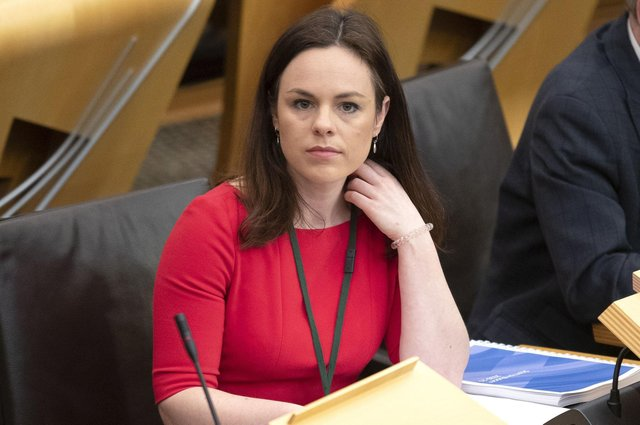 Finance Secretary Kate Forbes  is awaiting a report form COSLA