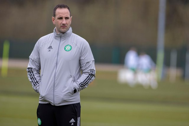 Celtic interim boss John Kennedy has laughed off rumours linking him with the Director of Football role