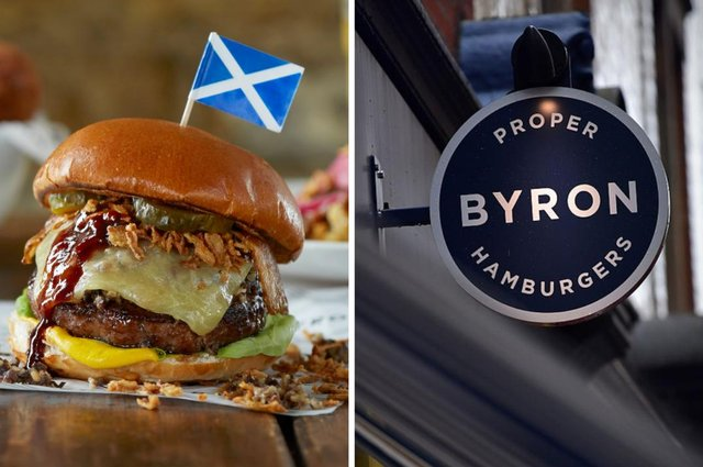 Burger restaurant chain Bryon has renamed one of its most popular offerings in honour of Scotland's dramatic victory against Serbia.