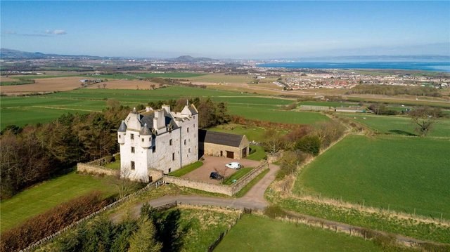 Stunning and historic: Fa'side Castle