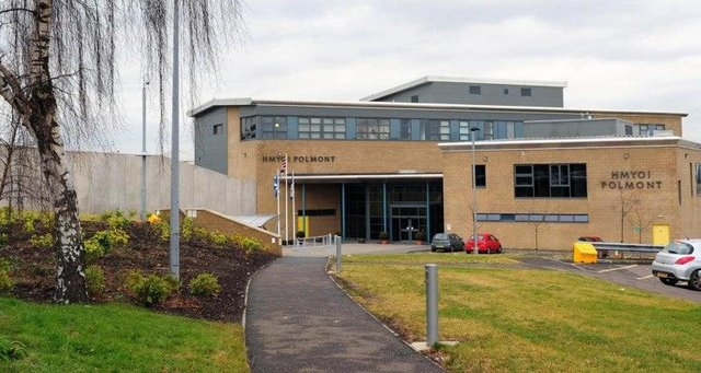 Her Majesty's Young Offenders Institution Polmont, near Falkirk in Stirlingshire, is the largest of its kind in Scotland