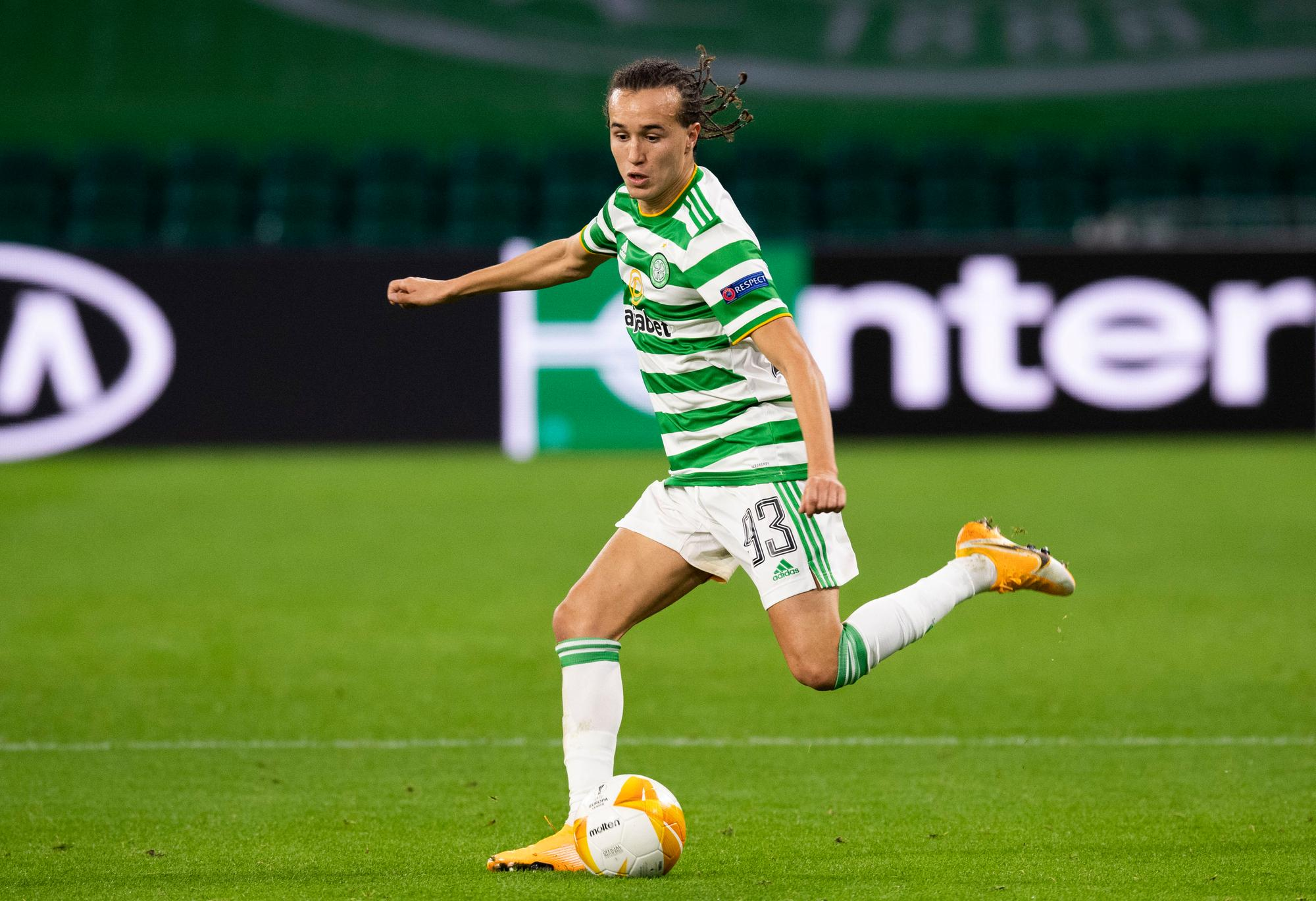 The 8 statistics behind Diego Laxalt's excellent performance for Celtic in  Lille | The Scotsman