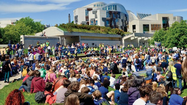 Scotland's Climate Assembly - the world's first to include children as young as seven years old - has presented a report to parliament, laying out 81 green actions to help battle climate change in a fair and effective way