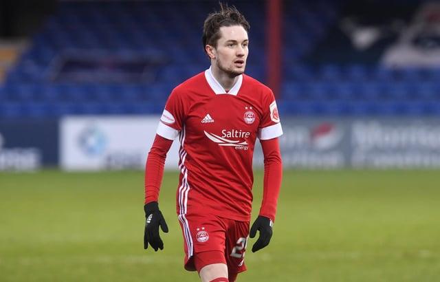 Aberdeen attacker Scott Wright. Picture: SNS