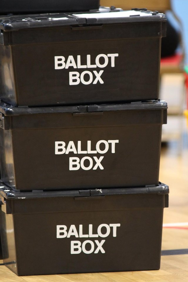 Results could take up to two days to come through for the Scottish election on May 6