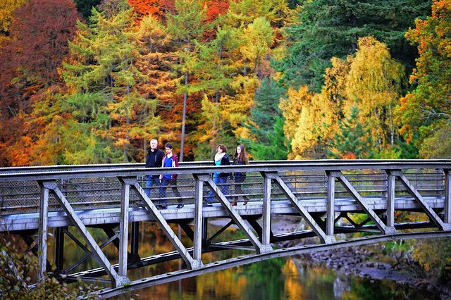 Pitlochry is a popular spot for second homes