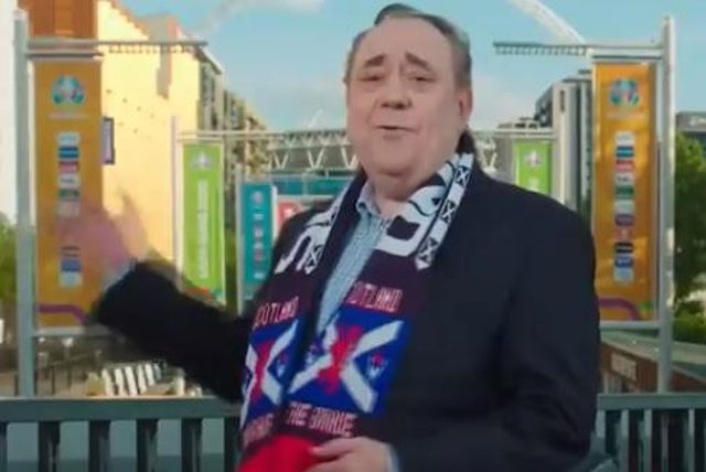 Alex Salmond posted the video today