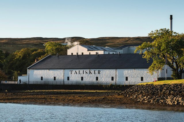 Among Diageo's portfolio is the Talisker distillery on the Isle of Skye. Picture: Diageo.