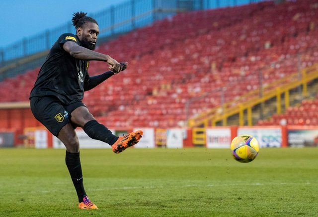 Jay Emmanuel-Thomas has signed a two-year deal with Aberdeen. Picture: SNS