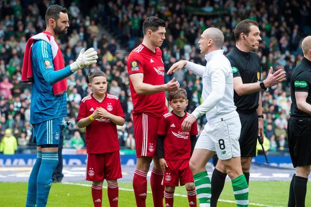 Scott Brown will come up against Aberdeen - but not goalkeeper Joe Lewis.
