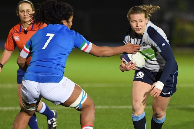 Scotland stand-off Sarah Law is fit and ready to take on Italy. Picture: Paul Devlin/SNS