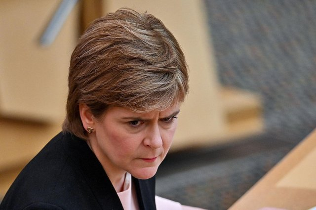 Scotland's First Minister Nicola Sturgeon. Picture: Jeff J Mitchell/POOL/AFP via Getty Images