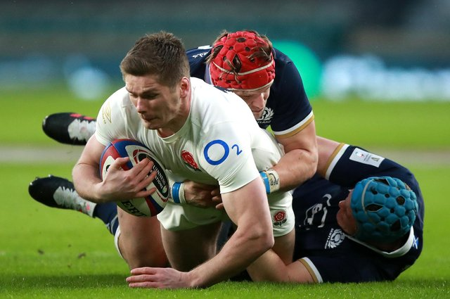 Scotland were disciplined in the Calcutta Cup win over England at Twickenham. Picture: David Rogers/Getty Images