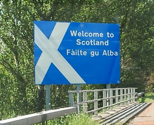 """Welcome to Scotland. The Scottish Government wants to increase the use of Gaelic within the organisation to help save the """"fragile"""" language. PIC: CCC."""