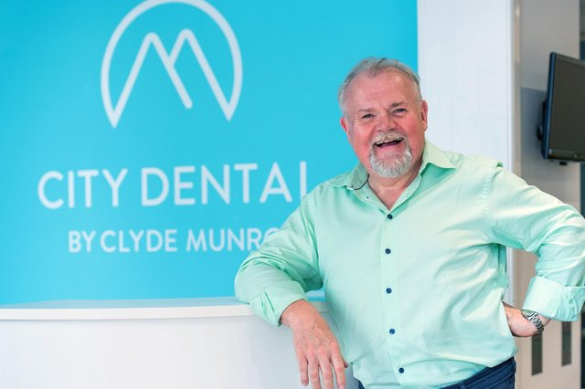 Clyde Munro was founded by Jim Hall in 2015 with the acquisition of seven dental practices. Picture: Ian Georgeson Photography