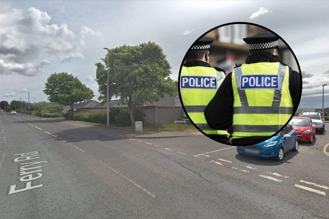 14-year-old girl left with minor injuries after being 'struck from behind' in attempted robbery in Angus.