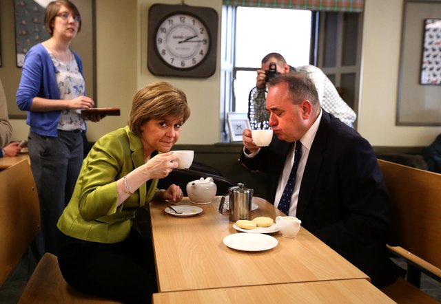 Nicola Sturgeon is set to miss out on a majority according to a new poll by Savanta ComRes.