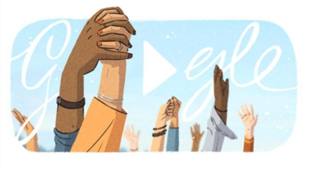 "Google's Doodle celebrates a series of women's ""firsts"" throughout history (Google)"
