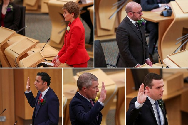 Scottish Parliament 2021: MSPs are sworn in following Holyrood election