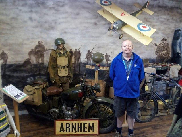 The Military Museum Scotland is a labour of love from owner and curator Ian Inglis.