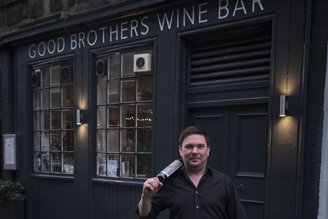 Graeme outside Good Brothers