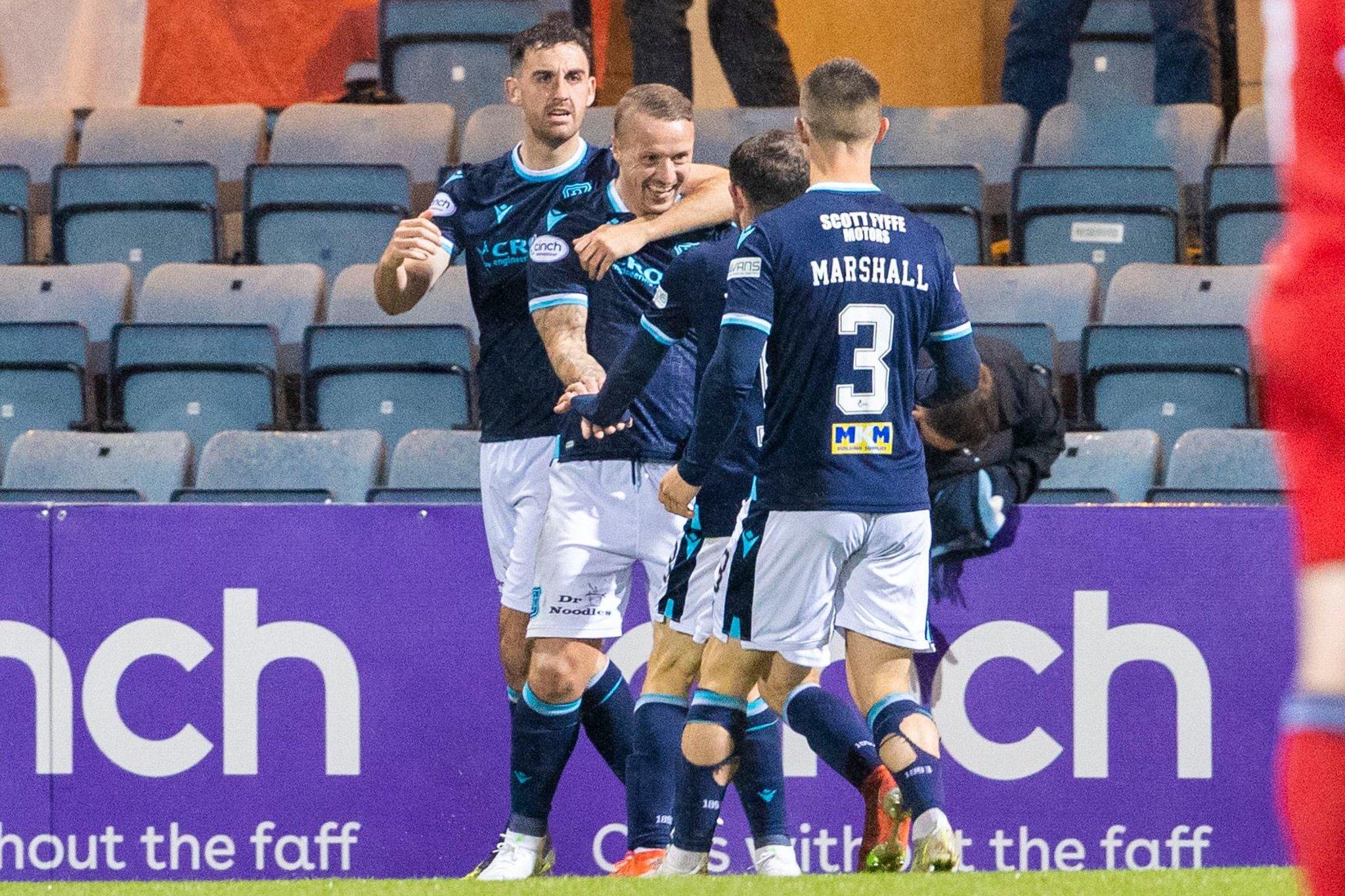 """James McPake: """"Gol Leigh mengingatkan saya pada pemenang Hibs v Aberdeen di Piala"""".  Manajer Dundee di Griffiths, Aberdeen menang dan kartu merah"""