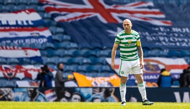 The family of Billy McNeill have paid tribute to Scott Brown. Picture: SNS