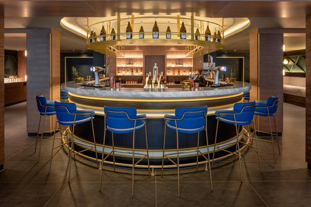 The masterclass will be held in the stylish hotel bar