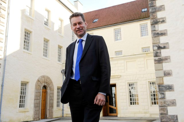 Murdo Fraser has been re-elected as a Mid-Scotland and Fife MSP. Picture: Phil Wilkinson