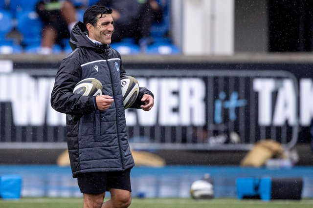 Former Scotland captain Kelly Brown is now forwards coach with Glasgow Warriors. Picture: Craig Williamson/SNS