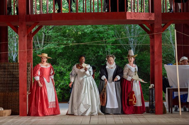 Scottish Opera's new production of Falstaff PIC: James Glossop