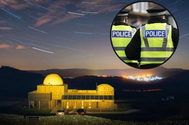 """The Scottish Dark Sky Observatory in East Ayrshire has been """"extensively damaged"""" by a fire in the early hours of Wednesday. (Credit: Visit Scotland/Damian Shields)"""