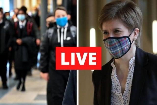 Coronavirus in Scotland: Follow here for all of Wednesday's updates.