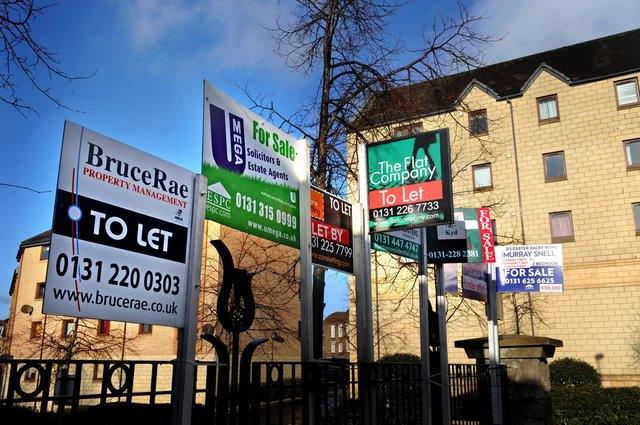 The latest figures from Edinburgh Solicitors' Property Centre show house prices across Edinburgh, the Lothians, Fife and the Borders have risen by nearly eight  per cent in the past 12 months